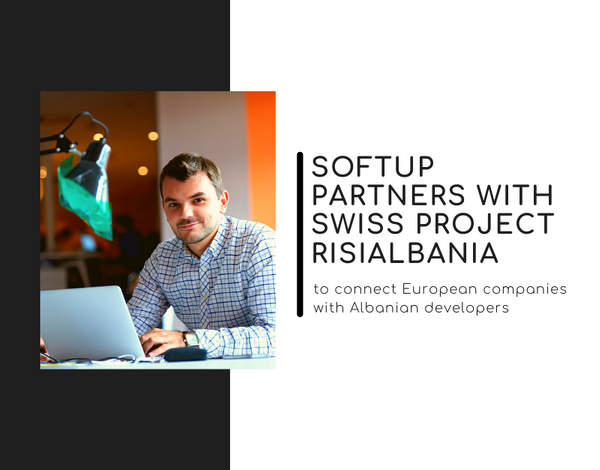 Softup partners with Swiss project RisiAlbania to connect European companies with Albanian developers